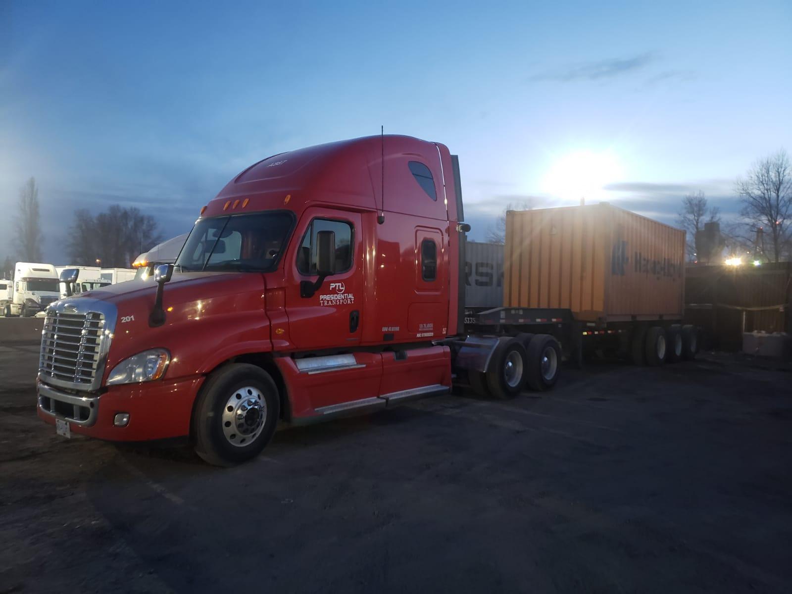 Presidential Transport Truck